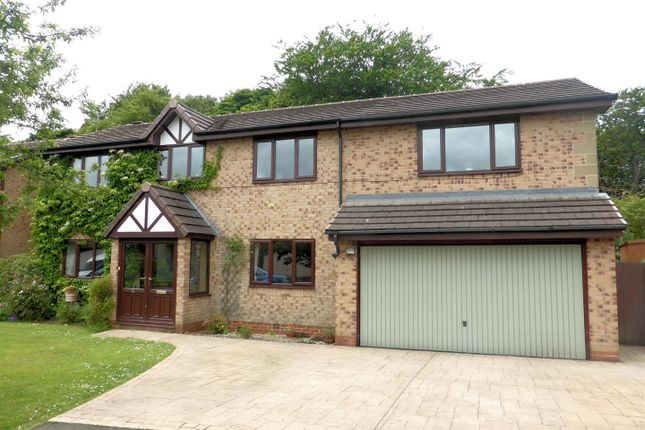 Thumbnail Detached house for sale in Henwick Hall Avenue, Ramsbottom, Bury