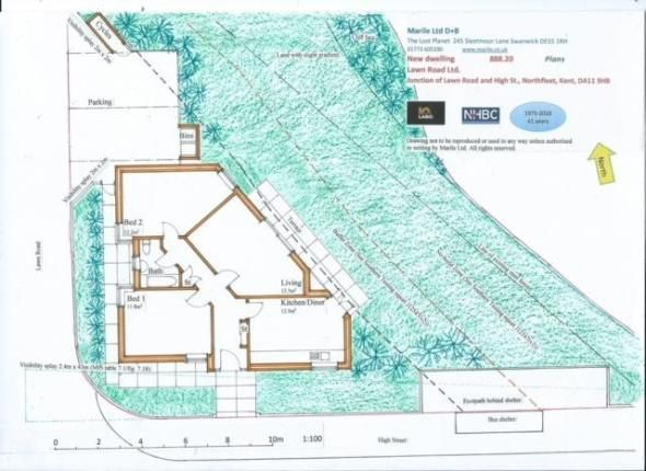 Thumbnail Land for sale in High Street, Northfleet, Gravesend