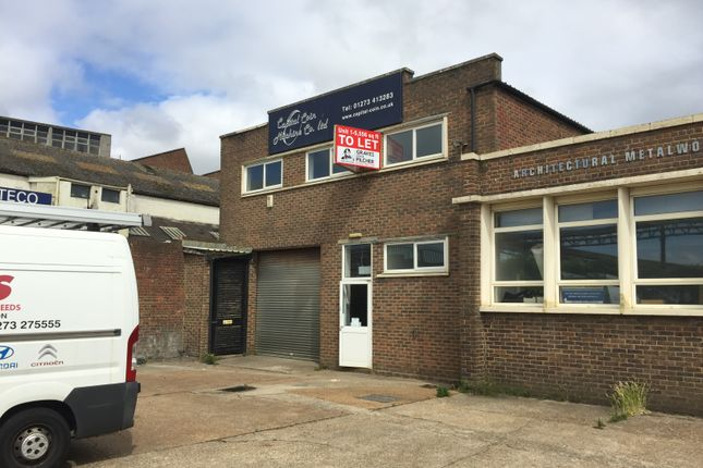 Thumbnail Industrial to let in Wellington Road, Portslade