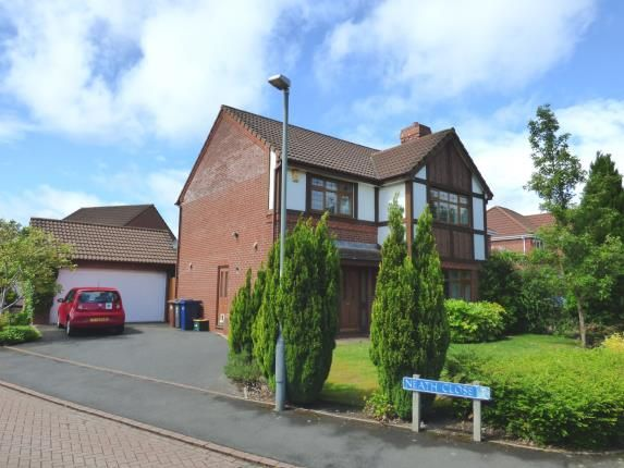 Thumbnail Detached house for sale in Neath Close, Walton-Le-Dale, Preston
