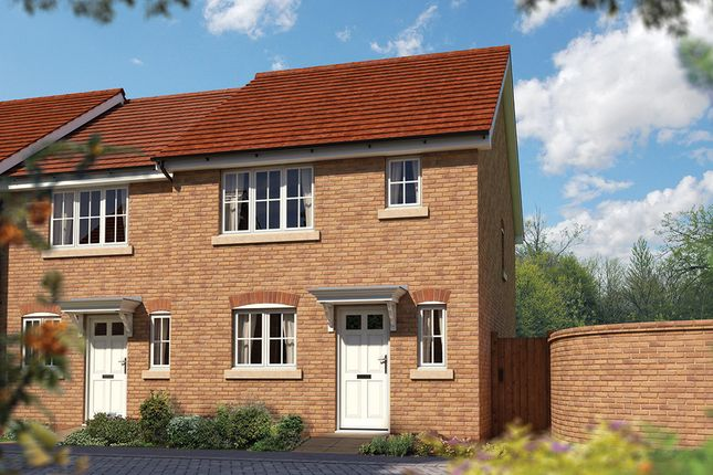 "Thumbnail End terrace house for sale in ""The Southwold"" at Priory Fields, Wookey Hole Road, Wells, Somerset, Wells"