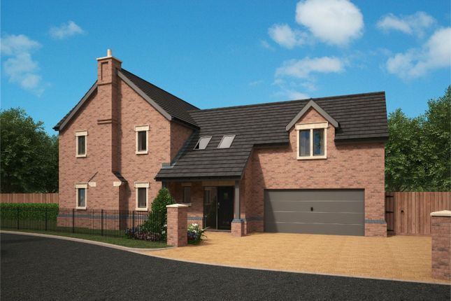 Thumbnail Detached house for sale in Flaxmoss Gardens, Helmshore, Rossendale