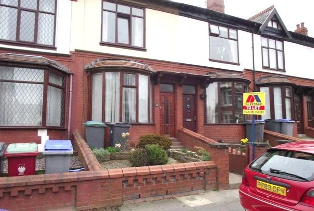 Thumbnail Terraced house to rent in Gloucester Avenue, Blackpool, Lancashire
