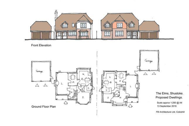 Thumbnail Land for sale in Shawbury Lane, Shustoke, Nr Coleshill