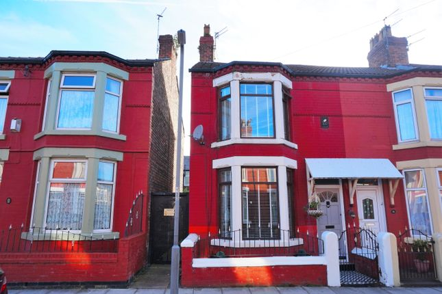 Thumbnail Terraced house for sale in Cobham Avenue, Orrell Park, Liverpool
