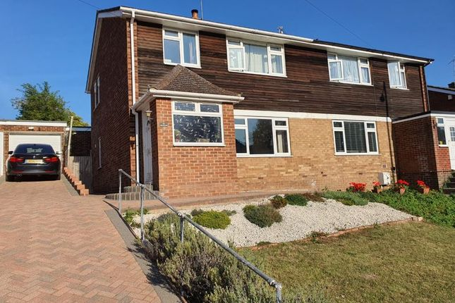 Thumbnail Semi-detached house for sale in Hicks Farm Rise, High Wycombe
