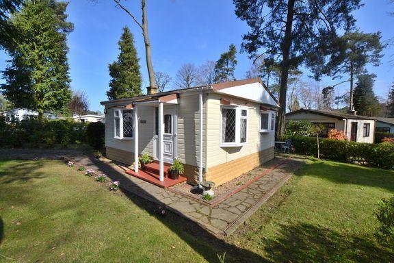 Thumbnail Mobile/park home for sale in Woodland Rise, Grange Estate, Church Crookham, Fleet