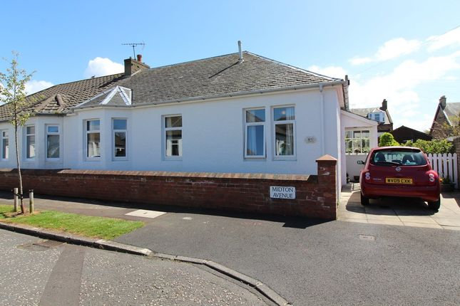 Thumbnail Semi-detached bungalow for sale in Midton Avenue, Prestwick