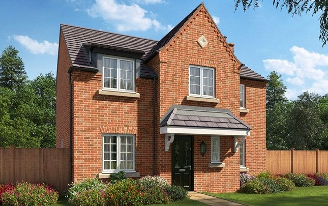 Thumbnail Detached house for sale in The Staunton, Bruche Avenue, Warrington, Cheshire