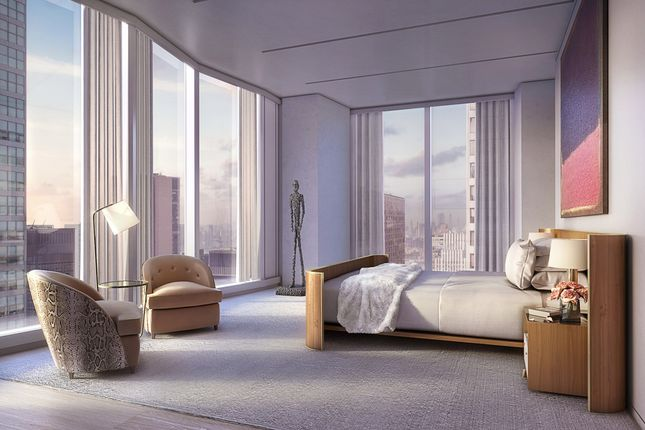 The Tower Apartments Master Bedrooms Offering Views Of East River And Beyond
