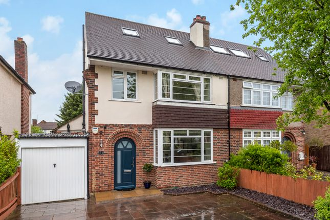 Thumbnail Semi-detached house for sale in Sheephouse Way, Old Malden, Worcester Park
