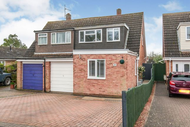 Thumbnail Semi-detached house for sale in Rochfort Avenue, Newmarket