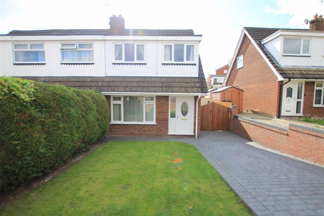 Thumbnail Semi-detached bungalow for sale in Brushwood Avenue, Flint, Flintshire