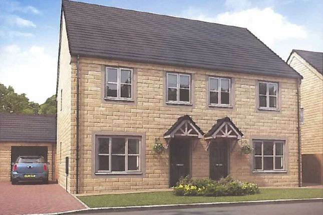 Thumbnail Semi-detached house for sale in Off Waingate, Linthwaite, Huddersfield