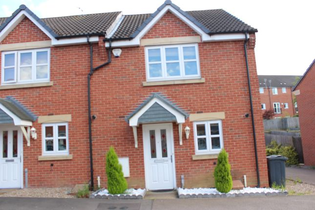 Thumbnail Town house to rent in Carty Road, Hamilton, Leicester