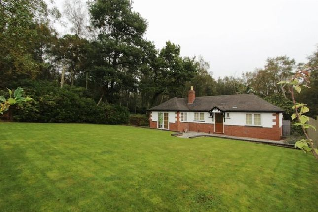 Thumbnail Detached bungalow to rent in Beaudesert Park, Cannock Wood, Rugeley
