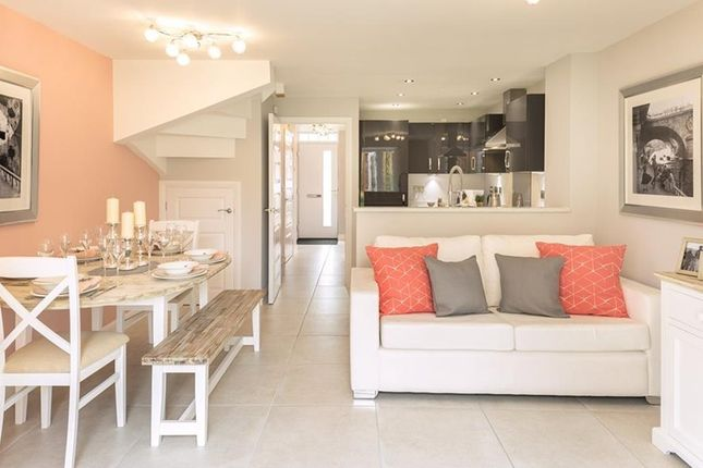 """Thumbnail Terraced house for sale in """"Haversham"""" at Southern Cross, Wixams, Bedford"""
