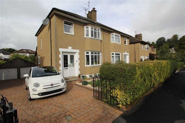 Thumbnail Semi-detached house for sale in Manse Avenue, Bearsden, Glasgow