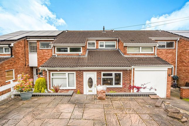 Thumbnail Terraced house for sale in Hudson Close, Leicester