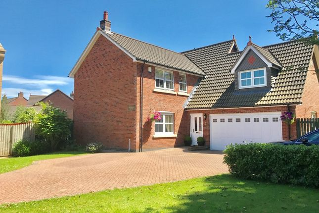 Thumbnail Detached house for sale in Cumwhinton Drive, Carlisle, Cumbria