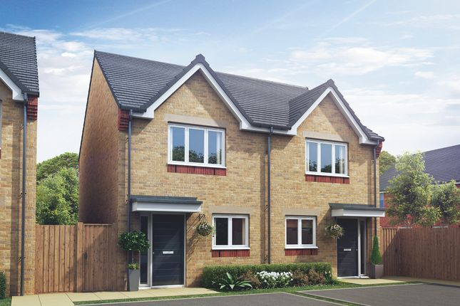 "Thumbnail Semi-detached house for sale in ""The Arun"" at Crossley Street, Gorton, Manchester"