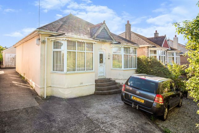 Thumbnail Detached bungalow for sale in Plymstock Road, Plymstock, Plymouth