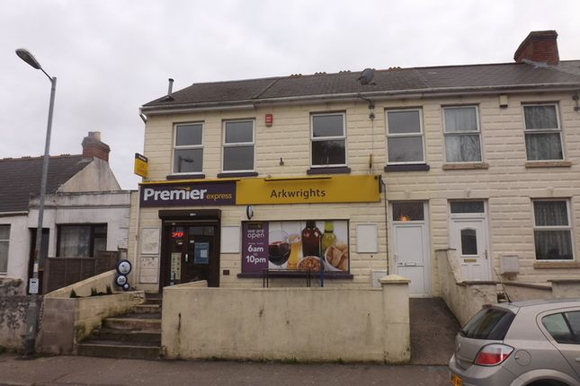 Thumbnail Flat for sale in Park Road, Camborne