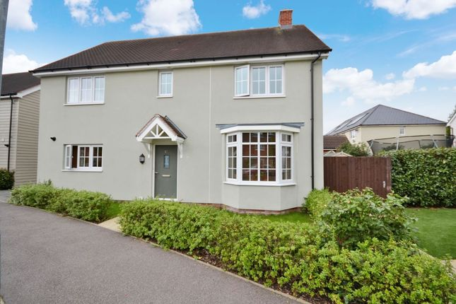 Thumbnail Detached house for sale in Saffron Way, Little Canfield, Dunmow