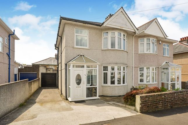 Thumbnail Semi-detached house to rent in Langhill Road, Plymouth