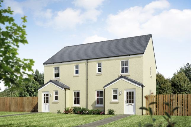 "Thumbnail End terrace house for sale in ""The Annan 2 End Terrace"" at Stable Gardens, Galashiels"