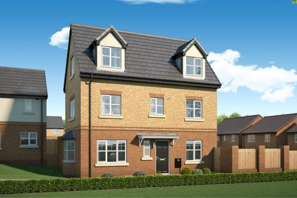 "Thumbnail Property for sale in ""The Overton At The Woodlands"" at Newbury Road, Skelmersdale"