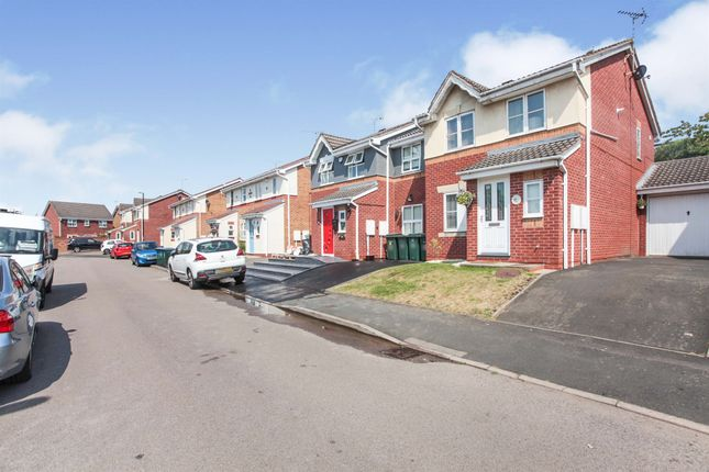 Link-detached house for sale in Minton Road, Coventry