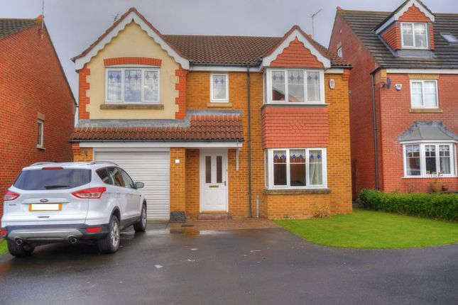 Thumbnail Detached house for sale in Nottingham Court, Bedlington