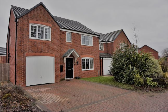 Thumbnail Detached house to rent in Cottonwood Close, Preston
