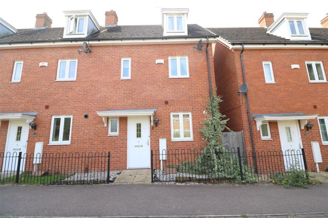 Thumbnail End terrace house for sale in Charlottes Row, Wilson Road, Rushden