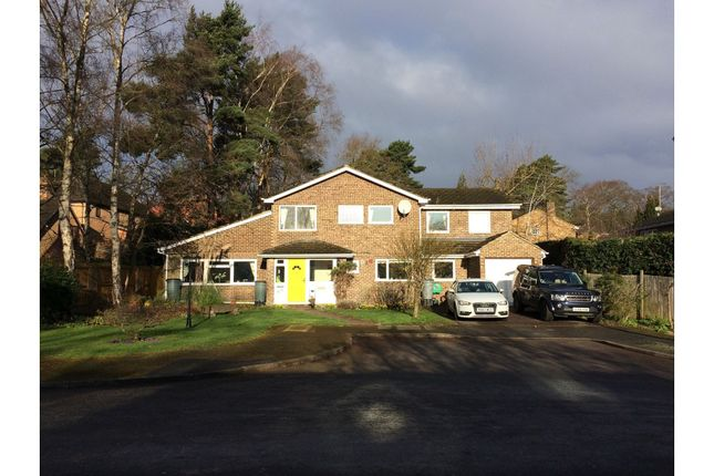 Thumbnail Detached house for sale in Byron Avenue, Camberley