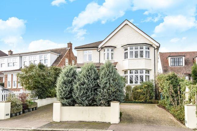 Thumbnail Detached house for sale in Hillside, New Barnet EN5,