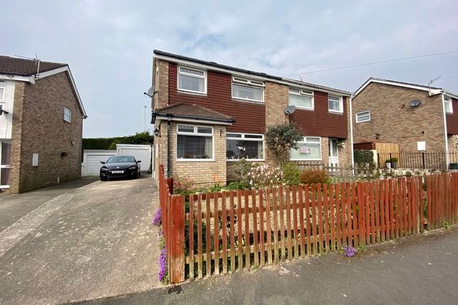 Thumbnail Semi-detached house for sale in Penmaen Close, Cefn Hengoed, Hengoed