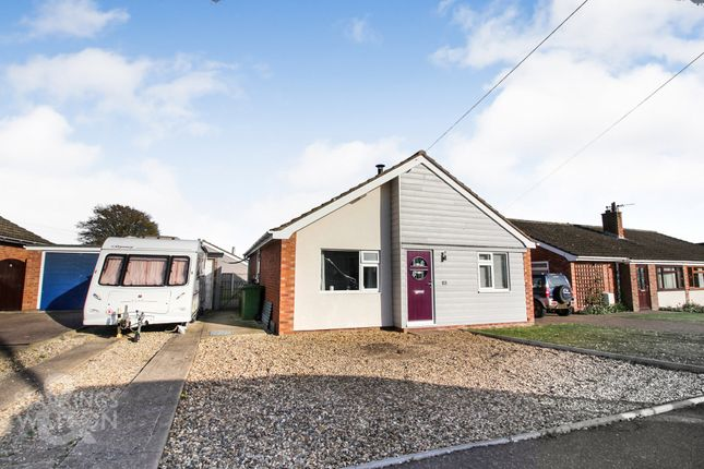 3 bed detached bungalow for sale in Brightons Road, Newton Flotman, Norwich NR15