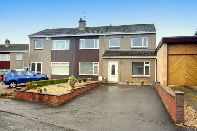 Thumbnail Semi-detached house for sale in 33 Mauricewood Rise, Penicuik