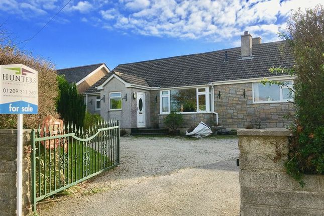 Thumbnail Detached bungalow for sale in Trevelyan Road, Illogan, Redruth