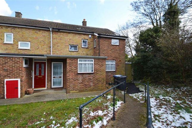 Thumbnail End terrace house for sale in The Readings, Harlow, Essex