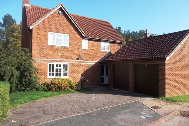 Thumbnail Detached house to rent in Chillery Leys, Willen