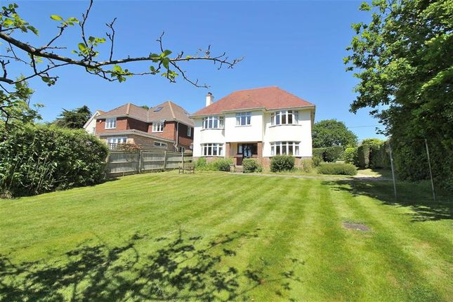 Thumbnail Detached house for sale in Chewton Common Road, Highcliffe, Christchurch