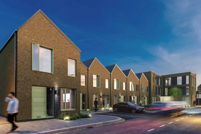 Thumbnail 3 bed town house for sale in Gardiner Street Town Parks, Belfast