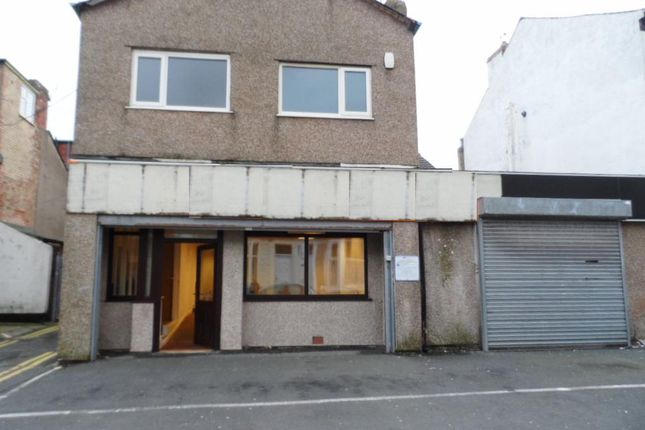 Thumbnail Light industrial for sale in Milbourne Street, Blackpool