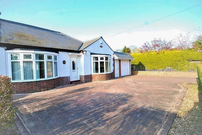 Thumbnail Bungalow for sale in The Crescent, Cleadon, Sunderland