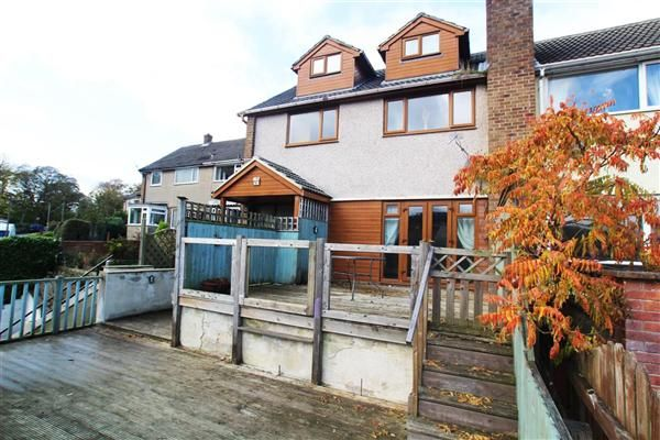 Thumbnail Semi-detached house for sale in Haugh End Lane, Sowerby Bridge