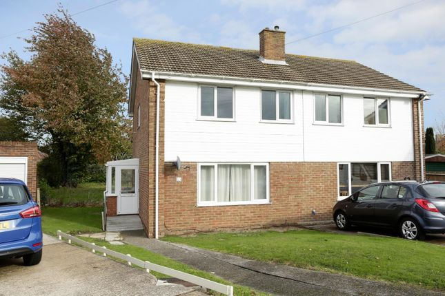 Thumbnail Semi-detached house for sale in Darracott Close, Deal