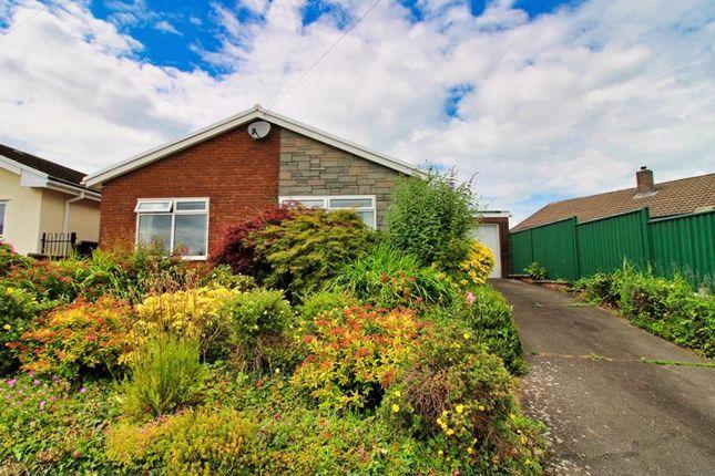 Thumbnail Detached bungalow for sale in St. Helens Crescent, Llanellen, Abergavenny